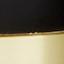 Lampenfuß: Schwarz, MessingLampenschirm: WeißKabel: Transparent