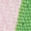 Blady różowy, biały, zielony