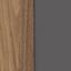 Szary, drewno orzecha włoskiego