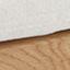 Tessuto intrecciato beige, legno di quercia