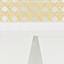 Lampenschirm: Beige, WeißLampenfuß: Mattweiß