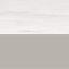 Tafelblad: wit marmer. Frame: zilverkleurig, glanzend