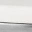 Tischplatte: Weiß-grauer Marmor, leicht glänzendGestell: Silberfarben, matt