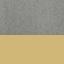 Revêtement: gris Pieds: couleur dorée, brillant