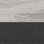 Tafelblad: grijs, gemarmerd. Tafelpoot: mat zwart
