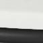Piano d'appoggio: marmo bianco Struttura: nero opaco