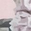 Wielobarwny, blady różowy