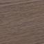Blat: szkło, czarny barwiony Półka: fornir z drewna jesionowego, brązowy