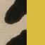 Beige, Schwarz, Gelb
