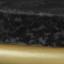 Piano d'appoggio: marmo nero Struttura: dorato opaco