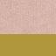 Tapicerka: brudny różowy Nogi: odcienie złotego, matowy