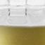 Vaso: trasparente base: dorato, opaco