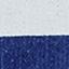 Niebieski, biały