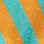 Orange, Türkis