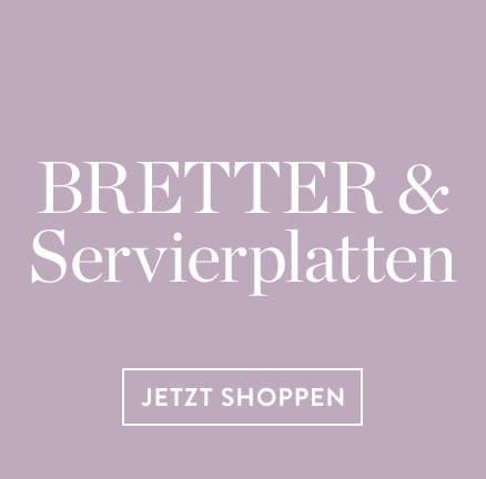 Serviergeschirr-Bretter-Servierplatten
