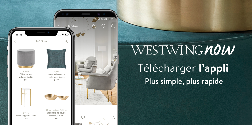 Westwing app banner