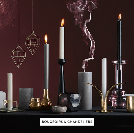 Bougeoirs & chandeliers