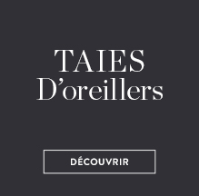 Taies d'oreillers