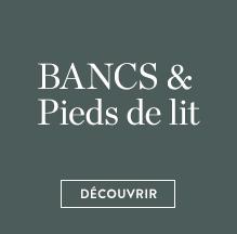 Bancs & pied de lit