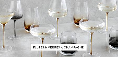 Flûtes & verres à champagne