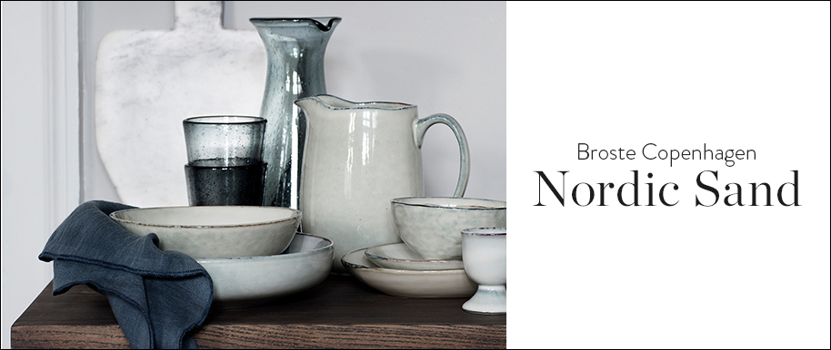 Broste Copenhagen Servies.Broste Copenhagen Servies Collectie Nordic Sand Westwingnow