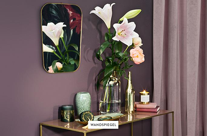 Wandspiegel-Deko-Blumen-1