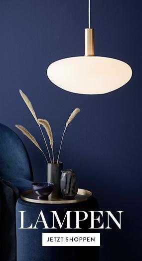 Lampen-Beistelltisch-Deko