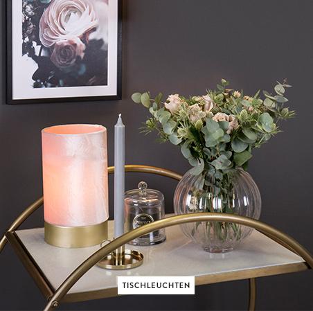 Tischleuchten-Vase-Kerzenhalter