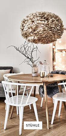 Stühle Tisch Deko