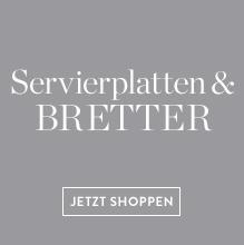 Servierplatten-Bretter