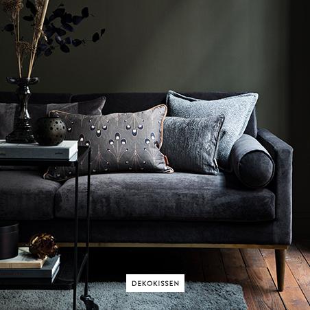 Kissen-Deko-Sofa