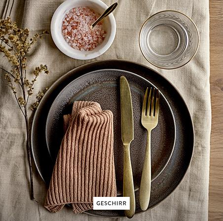 Geschirr-Besteck-Teller