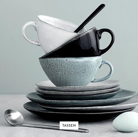 Tassen-Teller-Besteck