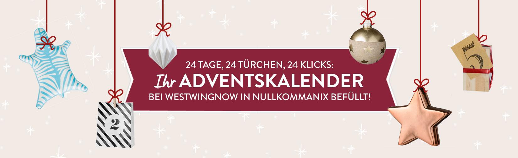 Landingpage Adventskalender