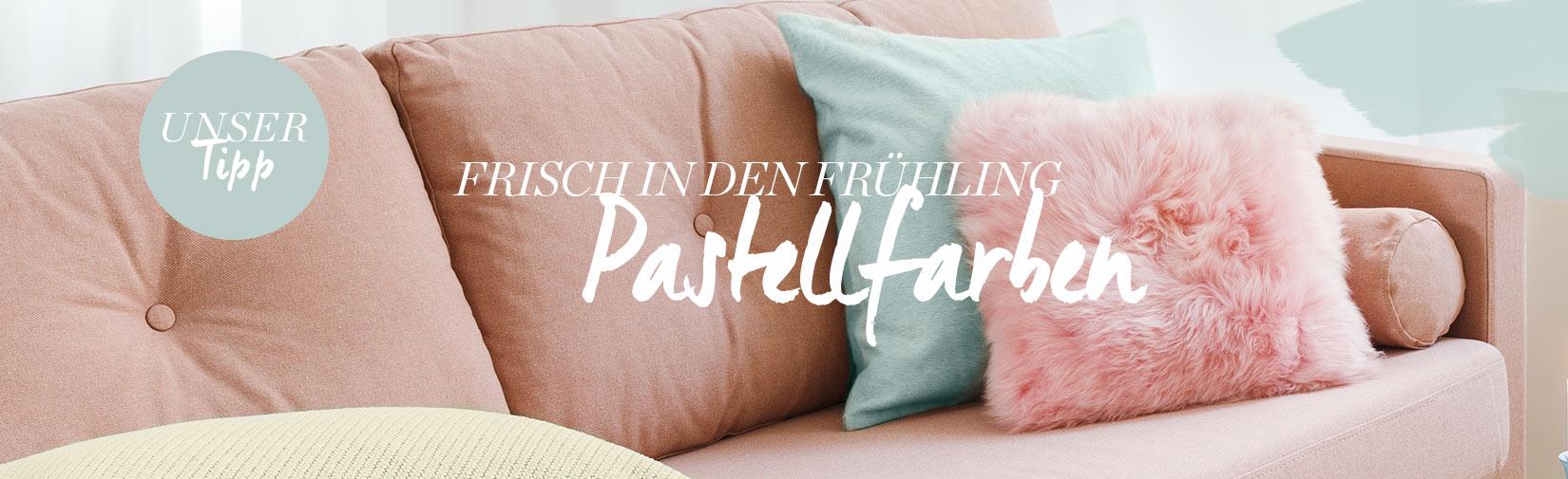 Landingpage pastell