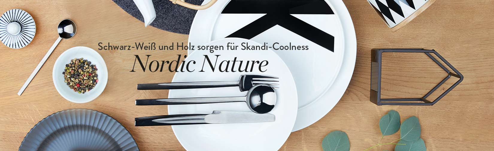Tisch-Styling Nordic Nature