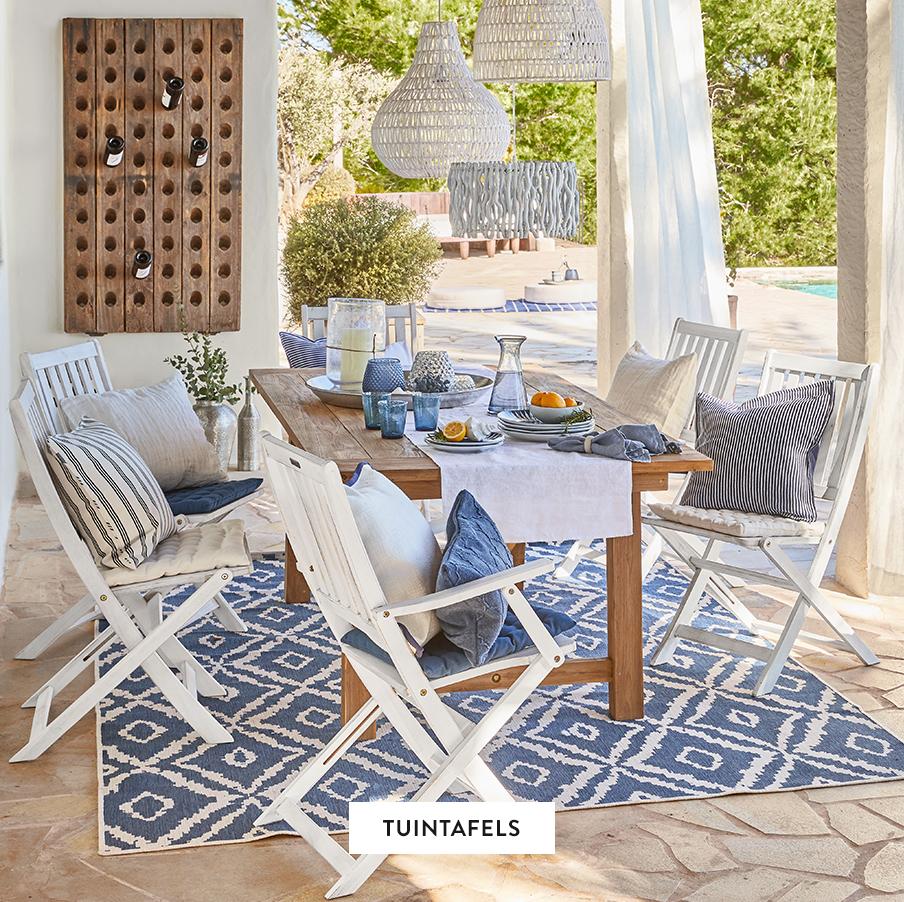 Outdoor-Gartentische-Tischdecke