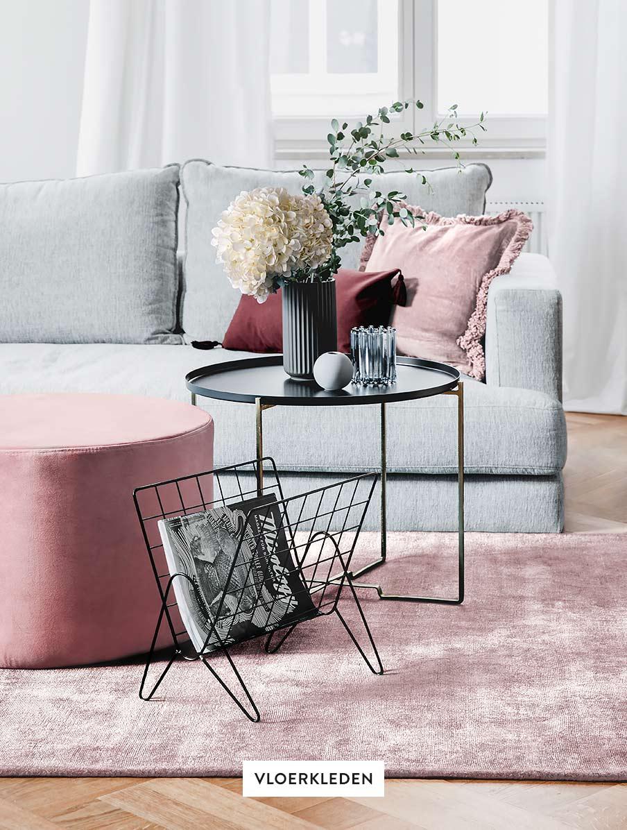 Textilien-Teppiche-Wohnzimmer-Sofa