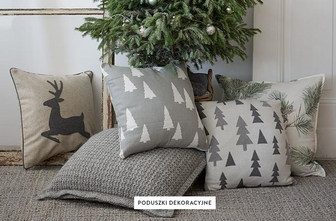 Dekokissen-Winterlich-Tannenbaum