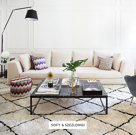 Sofa-Poduszki-Lampy