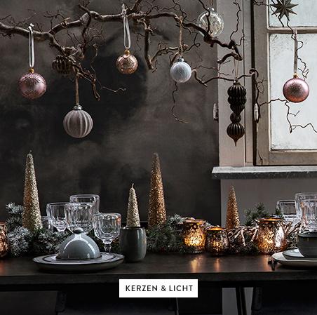 Kerzen-Licht-Deko-Geschirr