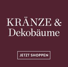 Kranze-Dekobaume-Tannenzweige
