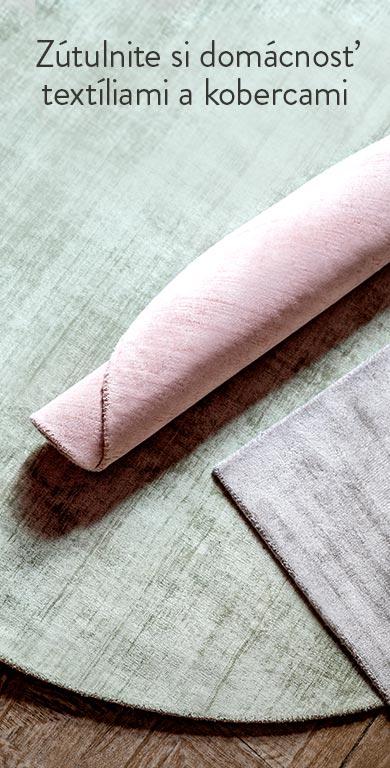 Textílie a koberce