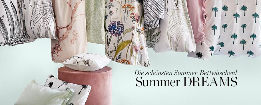 Die schönsten Sommer-Bettwäschen!
