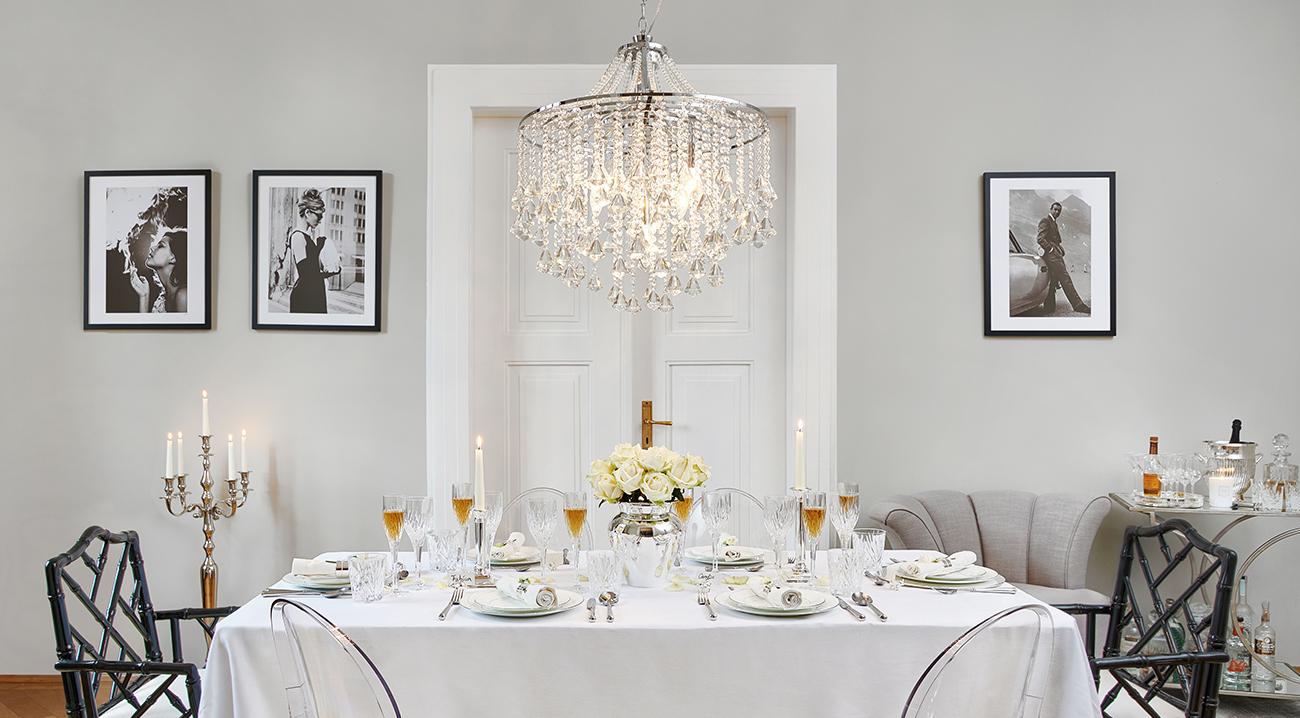 kronleuchter online kaufen glamour pur westwingnow. Black Bedroom Furniture Sets. Home Design Ideas