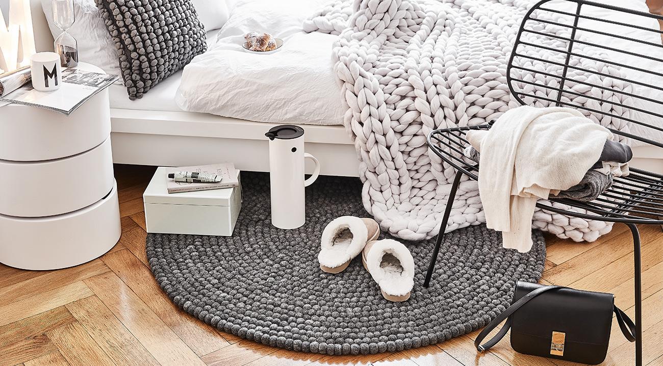 runde teppiche online kaufen weich sch n westwingnow. Black Bedroom Furniture Sets. Home Design Ideas