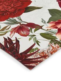 Bieżnik Samanta, Bawełna, Biały, czerwony, pomarańczowy, zielony, S 50 x D 140 cm