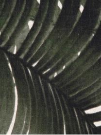 Poszewka na poduszkę Palmeira, Bawełna, Ecru, zielony, S 40 x D 40 cm