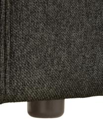 Sessel Lennon in Anthrazit, Bezug: 100% Polyester Der hochwe, Gestell: Massives Kiefernholz, Spe, Füße: Kunststoff Die Füße befin, Webstoff Anthrazit, B 130 x T 101 cm