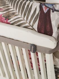 Nakładka na krzesło z oparciem Faya, Tapicerka: 50% bawełna, 45% polieste, Wielobarwny, S 50 x D 120 cm
